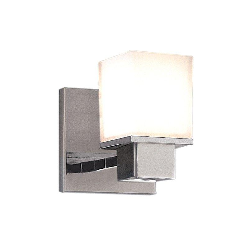 Hudson Valley 4441-SN MILFORD 1 LIGHT BATH BRACKET Satin Nickel