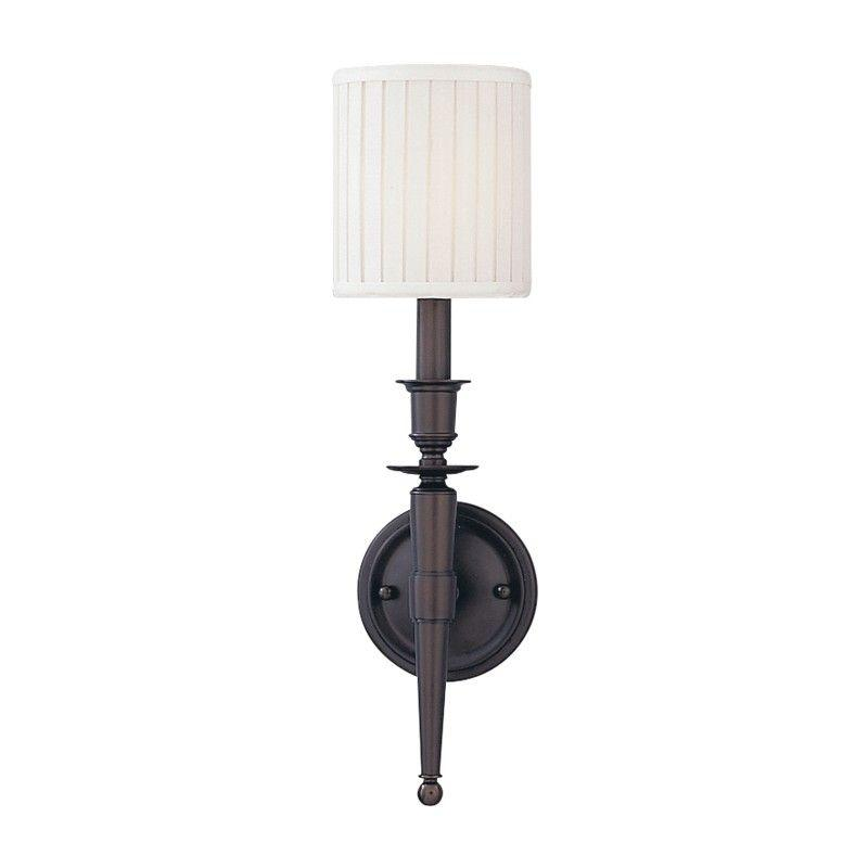 Hudson Valley 4901-OB ABINGTON 1 LIGHT WALL SCONCE Old Bronze