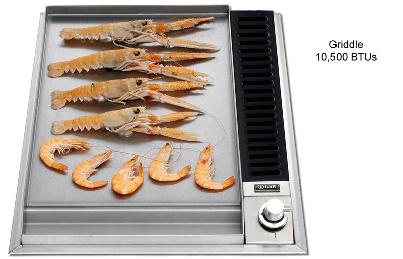 "ILVE UHP45F Gas 15"" Cooktop"