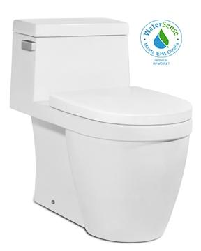 Icera C-6190.06 Muse One Piece Chair Height Elongated Toilet BISCUIT