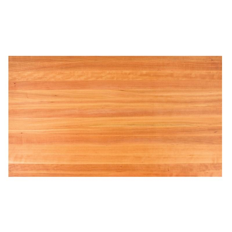 John Boos CHYKCT3-13348-V Cherry Kitchen Counter Top 133X48X3 Varnique