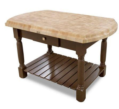 JOHN BOOS CU-HAR603603-BN 60X36X35 HANNOVER TABLE - BARN RED