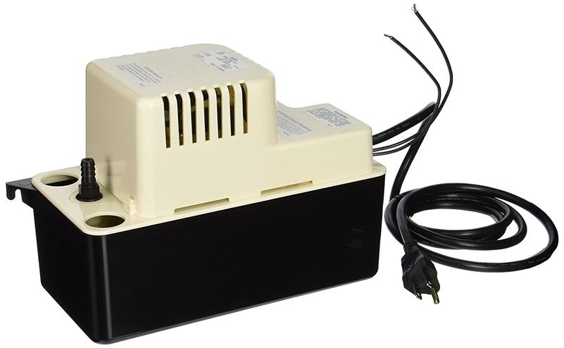 Little Giant VCMA-15ULS 554405 VCMA Series Automatic Condensate Removal Pump (115 volts), 1/50 horsepower