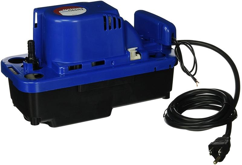 Little Giant 554542 VCMX-20ULS-C 84 GPH 115V Automatic Condensate Removal Pump