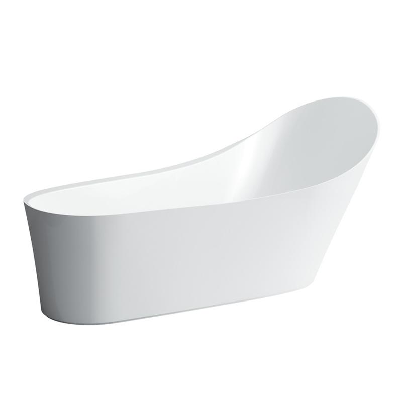 Laufen 2.4580.2.000.000.1 Palomba Resin Freestanding Bathtub