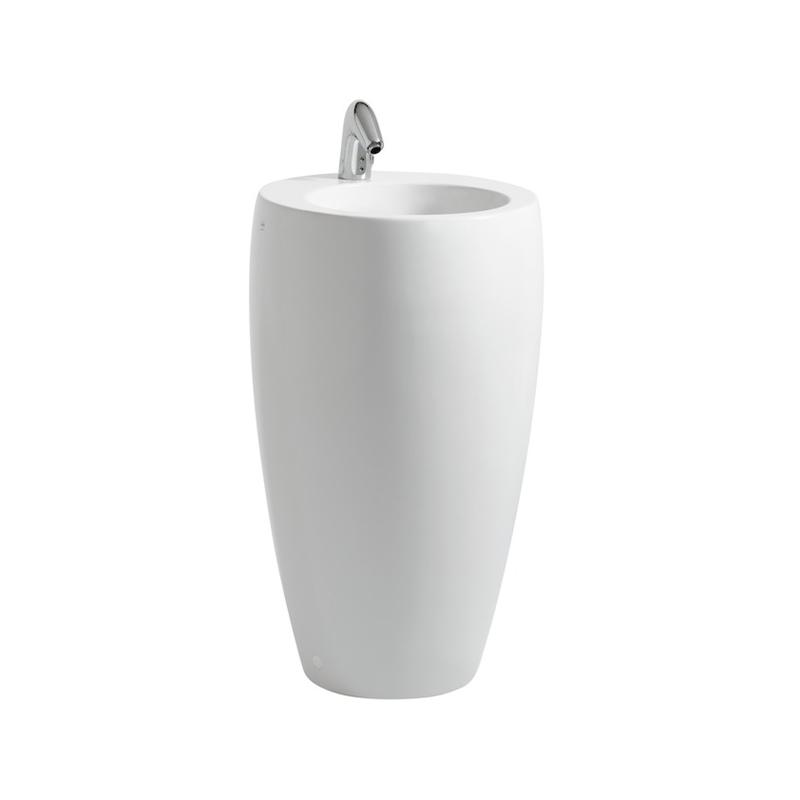 Laufen 8.1197.2.400.104.1 Alessi One Fs Slim Tam Freestanding Washbasin White