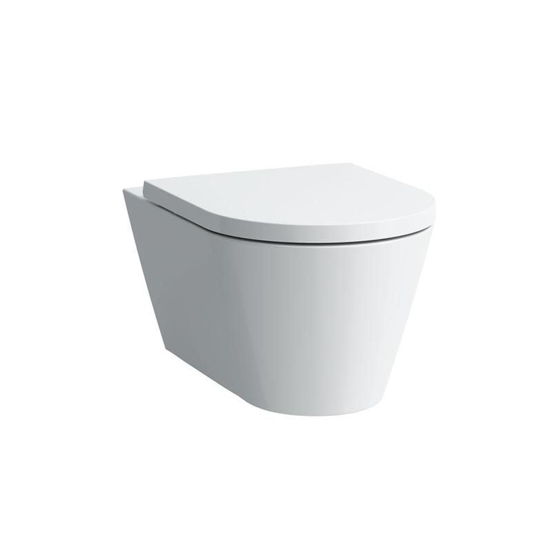Laufen 8.2033.8.000.250.1 Kartel Wall Hung Toilet Bowl