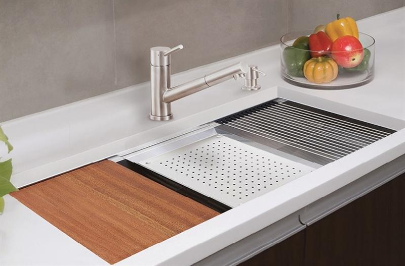 Lenova CB-03 Ledge Bamboo Cutting Board
