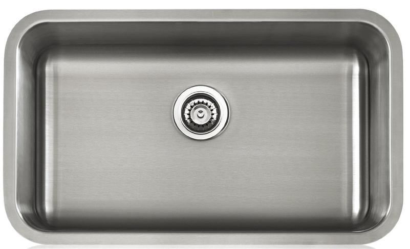 Apogee by Lenova LS18503 18-Gauge Stainless Steel Single Bowl Undermount Kitchen Sink