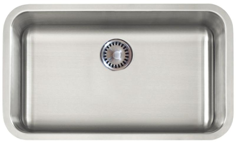 Lenova PC-SS-CL-S2-16 Permaclean Undermount Single Bowl Kitchen Sink Stainless Steel