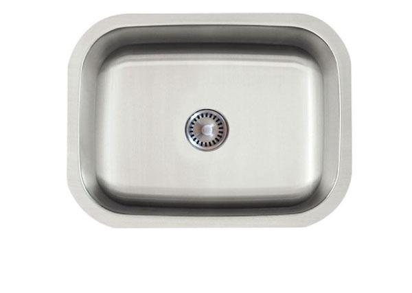 Lenova PC-SS-CL-S4-16 Permaclean Undermount Single Bowl Kitchen Sink Stainless Steel