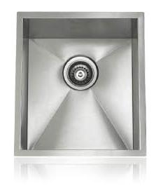 Lenova SS-0Ri-S4 Zero Radius Undermount Single Bowl Kitchen Sink Stainless Steel
