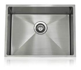 Lenova SS-12Ri-S2 One-Half Radius Collection Undermount Single Bowl Kitchen Sink Stainless Steel