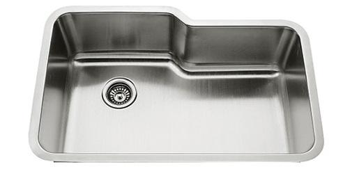 Lenova SS-CL-S9 Classic 18 Gauge Undermount Single Bowl Kitchen Sink Stainless Steel