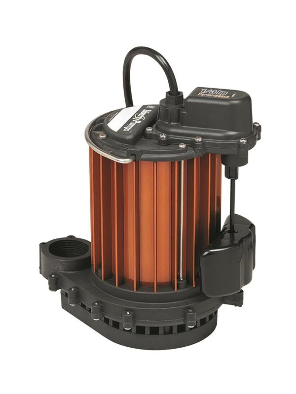 Liberty Pumps 230 1/3 hp, Sub. Sump pump, Polyp/aluminum, manual, 115V.