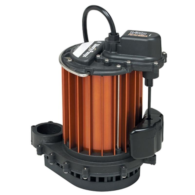 Liberty Pumps 231 Mercury Free Float Integrally Wired 1/3 HP Submersible Sump Pump with Quick Disconnect
