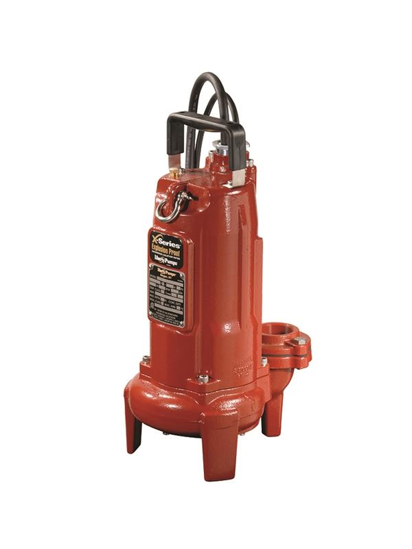 "Liberty Pumps FL102A-3 1 HP, Effluent pump, 1 PH, 208-230V, 35' cord, 1.5"" / 2 Discharge., Auto"