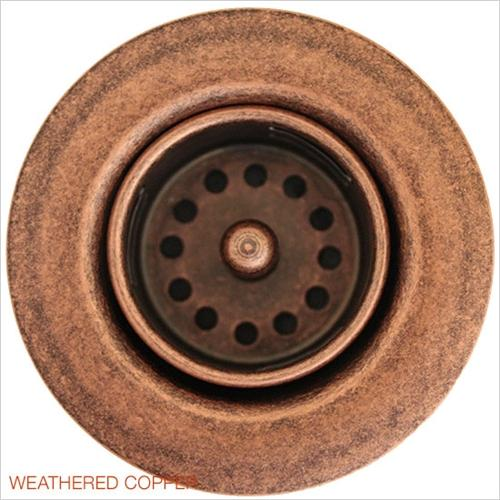 Linkasink D001 WC Non Overflow Bar Drain Weathered Copper