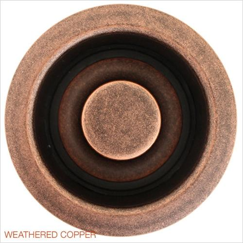 Linkasink D007 WC Non Overflow Disposal Flange Weathered Copper