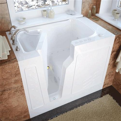 Meditub 2646 26 x 46 x 38 Walk-In Tub Gel Coat