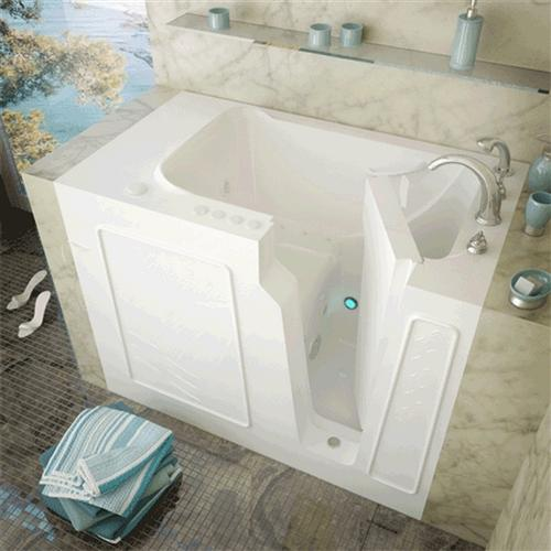 Meditub 2952 29 x 52 x 40 Walk-In Tub Gel Coat