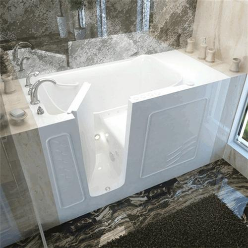 Meditub 3060 30 x 60 x 38 Walk-In Tub Gel Coat