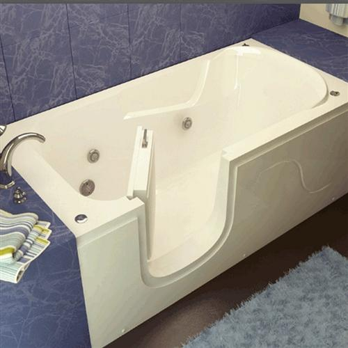 Meditub 3060SI 30 x 60 x 22 Step-In Tub Acrylic White