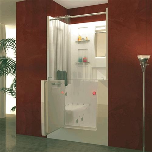 Meditub 3140 31 x 40 x 40 Walk-In Tub Acrylic White