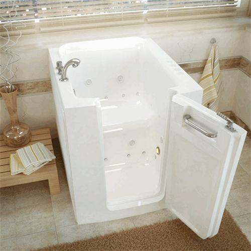 Meditub 3238 32 x 38 x 38 Walk-In Tub Acrylic White