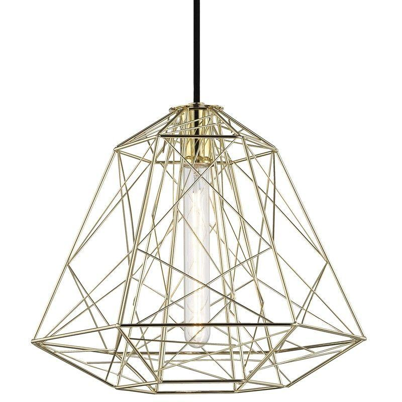 Mitzi H182701-PB Ani 1 Light Pendant