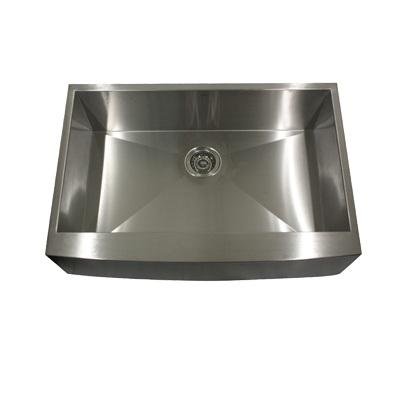"Nantucket Apron332010-16 33"" Single Bowl Undermount Apron Stainless Steel Sink"