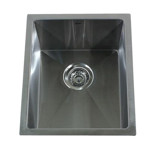 Nantucket Sinks SR1815 15-Inch Pro Series Rectangle Undermount Small Radius Stainless Steel Bar/Prep Sink