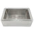 Native Trails CPK573 Farmhouse 33 Copper Kitchen Sink Brushed Nickel