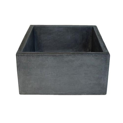 Native Trails NSB1515-S Ventana NativeStone Bar and Prep Sink in Slate