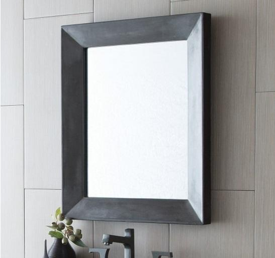 Native Trails NSMR2622-S NativeStone Portola Small Mirror in Slate