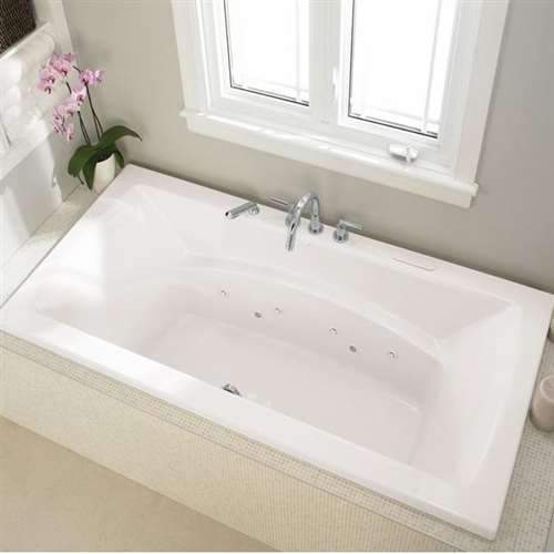 Neptune BE3666 BELIEVE 36in x 66in Drop-In Soaking Bathtub, White