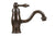 Premier Copper Products B-VF01ORB Single Handle Bathroom Vessel Faucet Oil Rubbed Bronze