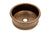 "Premier Copper Products BV15DB2 15"" Round Bar Vessel Tub Sink w/ 2"" Drain Size Oil Rubbed Bronze"