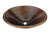 Premier Copper Products LO20RDB Master Bath Oval Self Rimming Hammered Copper Bathroom Sink Oil Rubbed Bronze