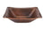 Premier Copper Products PVREC17 Rectangle Hand Forged Old World Copper Vessel Sink Oil Rubbed Bronze