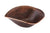 Premier Copper Products PVSHELL17 Free Form Hand Forged Old World Copper Vessel Sink Oil Rubbed Bronze