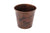 Premier Copper Products TC11DB Hand Hammered Copper Waste Bin / Trash Can Oil Rubbed Bronze