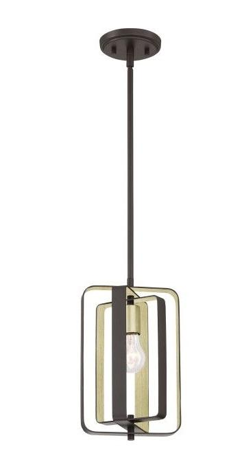 Quoizel CCE1508WT Cycle Mini Pendant Western Bronze