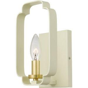 Quoizel CEN8801LCR Centennial Wall Sconce Light Cream