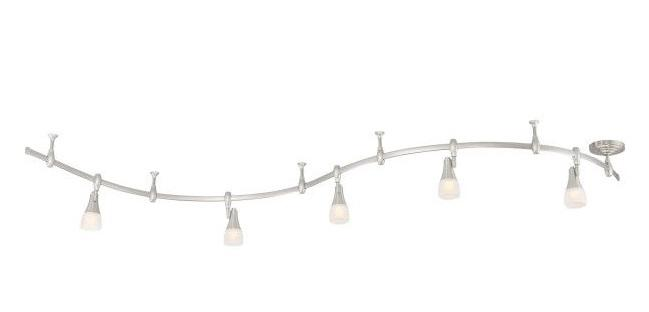Quoizel CFN1405BN Crofton Track Light Led 5Lt Brushed Nickel