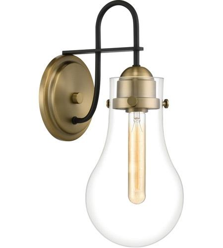 Quoizel QW4065WS Winstead Wall Sconce Wall 1 Light Weathered Brass