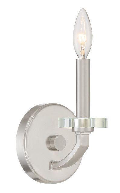 Quoizel TNS8701BN Transit Wall Sconce Brushed Nickel