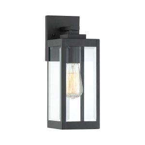 Quoizel WVR8405EK Westover Outdoor Wall Earth Black