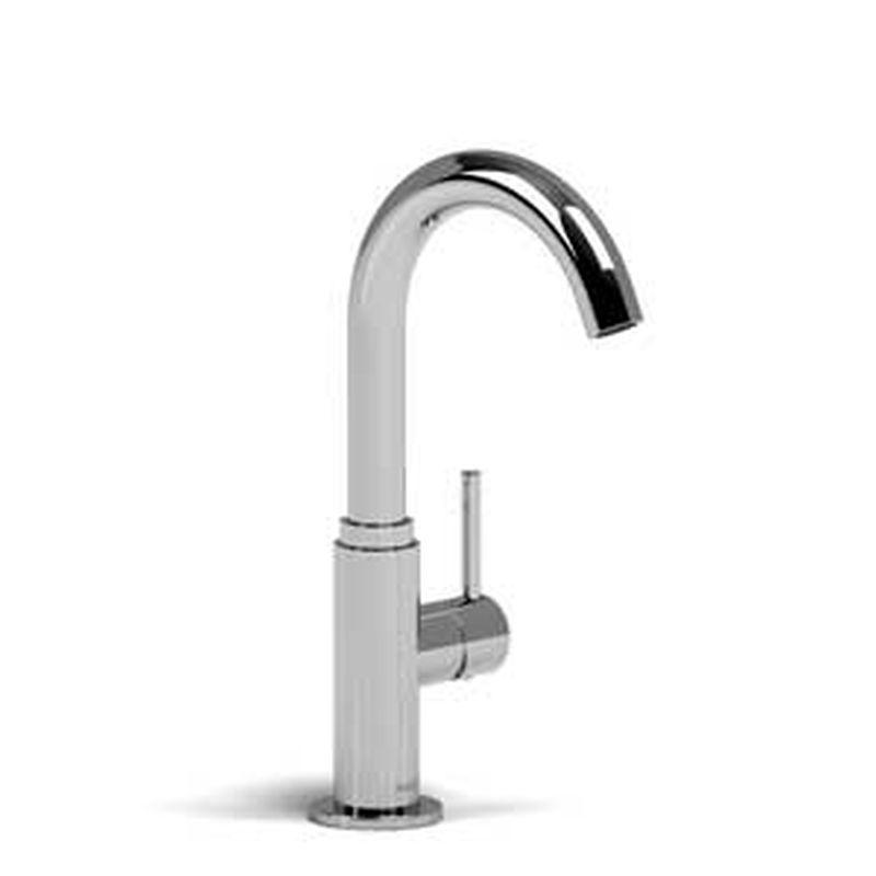 Riobel BO501SS Bora Single Hole Bar Sink Faucet Stainless Steel