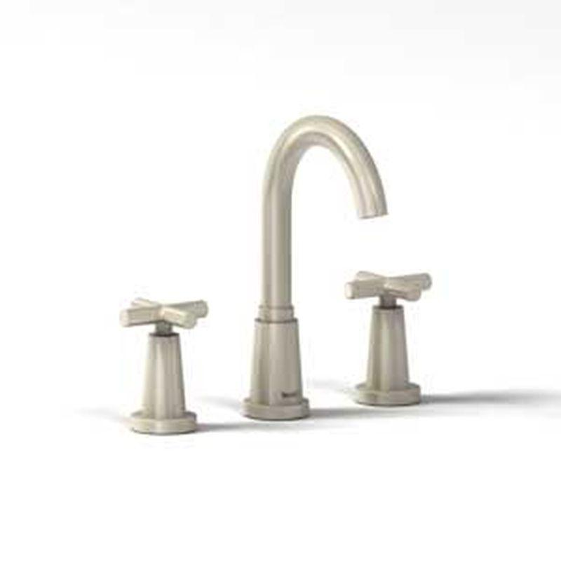 "Riobel Pallace Collection PA08-BN 8"" lavatory faucet Brushed Nickel"